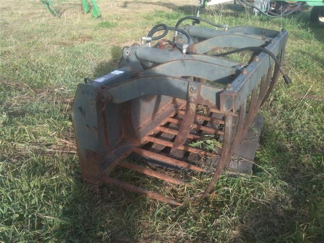 SKID STEER MANURE GRAPPLE FORKS