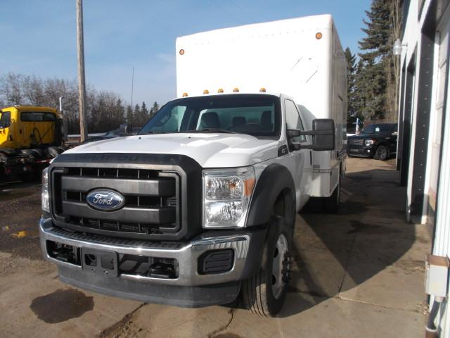 2012 FORD F450 VAN BODY